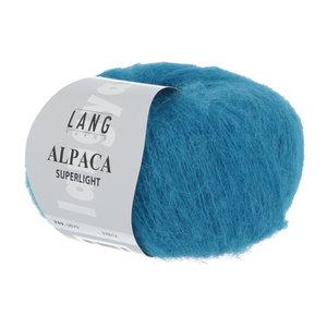 Lang Yarns Lang Yarns Alpaca Superlight Türkis 25 gram nr 79