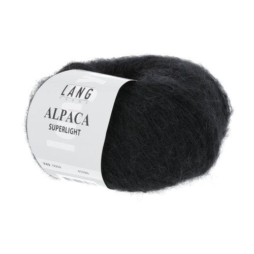 Lang Yarns Lang Yarns Alpaca Superlight Zwart 25 gram nr 4