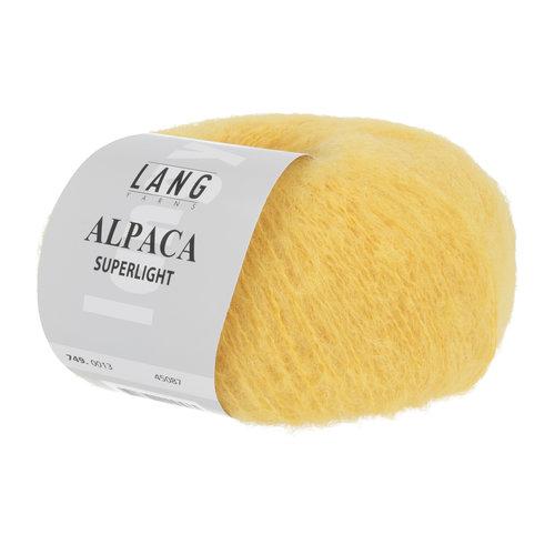 Lang Yarns Lang Yarns Alpaca Superlight Geel 25 gram nr 13