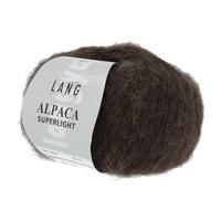 Lang Yarns Alpaca Superlight Donkerbruin 25 gram nr 68