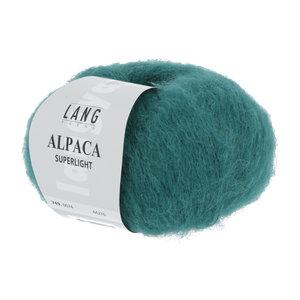 Lang Yarns Lang Yarns Alpaca Superlight Smaragd 25 gram nr 74