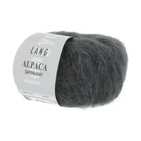 Lang Yarns Alpaca Superlight Antraciet 25 gram nr 70
