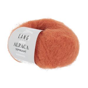 Lang Yarns Lang Yarns Alpaca Superlight Orange 25 gram nr 59