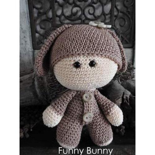 Funny's Haken Haakpakket Funny Bunny