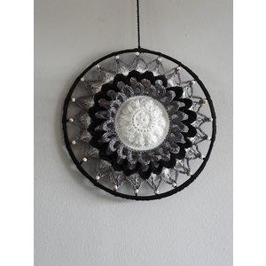 Funny's Haken Haakpakket Funny Mandala Flower Classic 25 cm