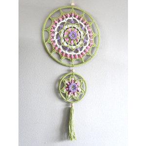Funny's Haken Haakpakket Funny Mandala Pastel 25 cm