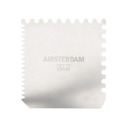 Amsterdam Amsterdam metalen schraper 10 x 10 cm