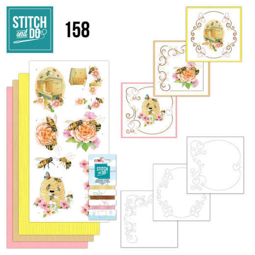 Stitch and Do  Stitch and Do 158 - Jeanine's Art - Humming Bees