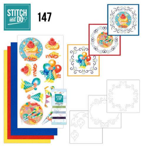 Stitch and Do  Stitch and Do 147 - Jeanine's Art - Happy Birthday