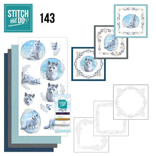 Stitch and Do  Stitch and Do 143 - Amy Design - Winter Foxes