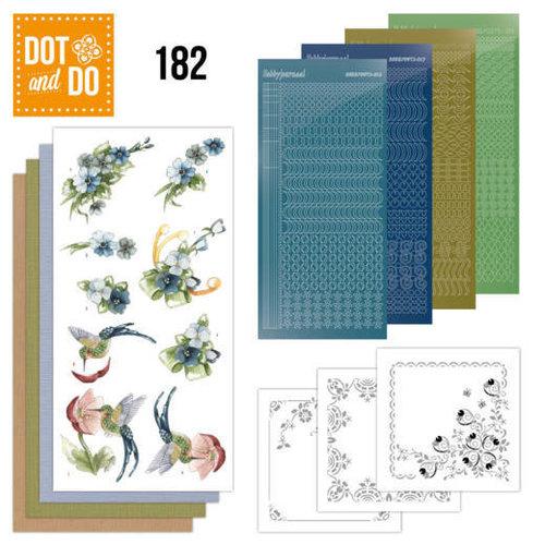 Dot and Do Dot and Do 182 - Precious Marieke - Blue Flowers