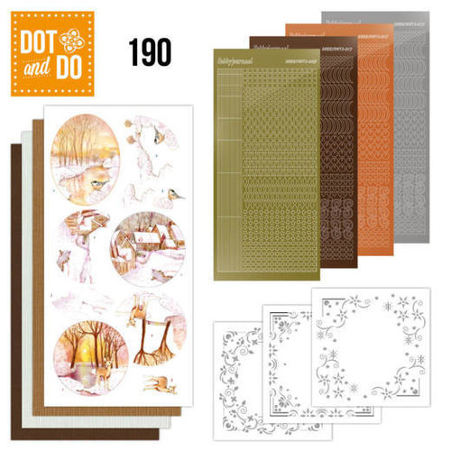 Dot and Do Dot and Do 190 - Jeanine's Art - Yellow Forest