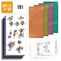 Dot and Do 191 - Precious Marieke - Pretty Flowers - Purple Flowers