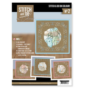 Stitch and Do  Stitch and Do on Colour 002 - Yvonne Creations - Newborn