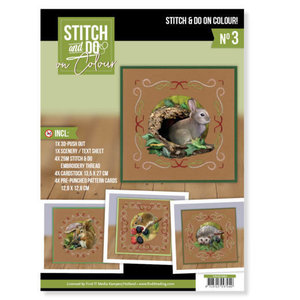 Stitch and Do  Stitch and Do on Colour 003 - Amy Design - Forest Animals