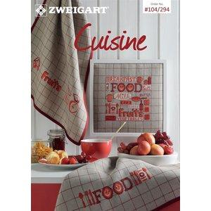 Zweigart Zweigart Borduurpatronen boekje Cuisine 104-294