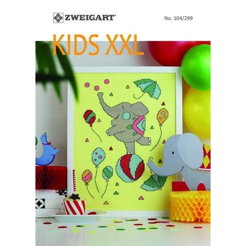 Zweigart Zweigart Borduurboekje Kids XXL 104-299