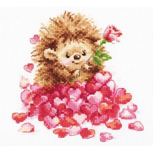 Alisa Alisa Borduurpakket in Love 0-211