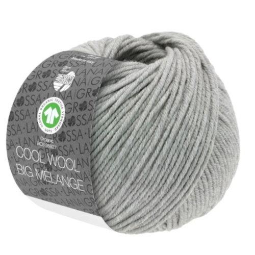 Lana Grossa Lana Grossa Cool Wool Big Mélange Gots 50 gram Beige Nr 223