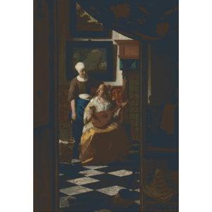 PixelHobby Pixelhobby Patroon 5628 De Liefdesbrief van Johannes Vermeer