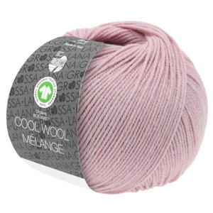Lana Grossa Lana Grossa Cool Wool Big Mélange Gots 50 gram Lila Roze Nr 217