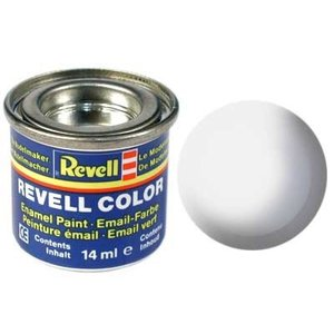 Revell Revell Email Verf 14 ml nr 301 wit zijdemat