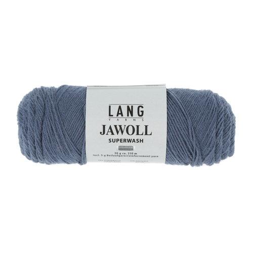 Lang Yarns Lang Yarns Jawoll 50 gram steel blue nr 007