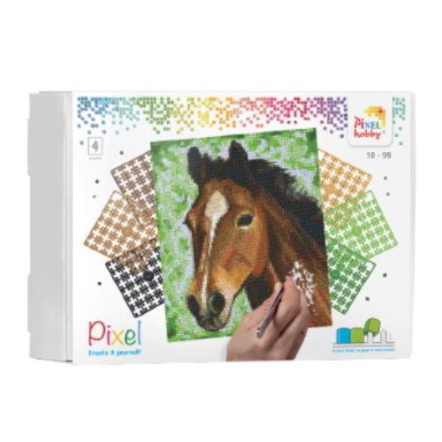 PixelHobby Pixelhobby Geschenkset Paard 90027 4 basisplaten