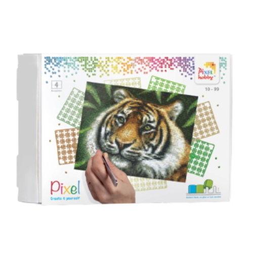 PixelHobby Pixelhobby Geschenkverpakking  Tijger 90028