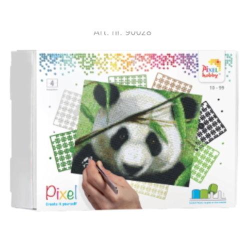 PixelHobby Pixelhobby geschenkverpakking Panda 90040