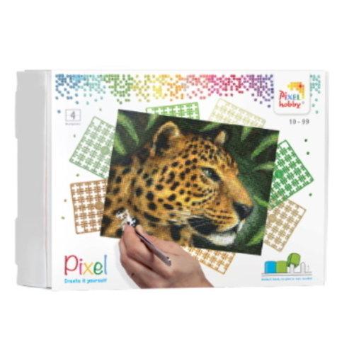 PixelHobby Pixelhobby geschenkverpakking Luipaard 90042