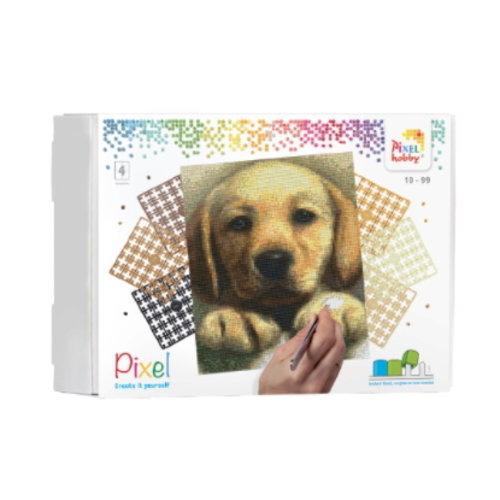 PixelHobby Pixelhobby geschenkverpakking puppy 90045