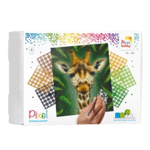 PixelHobby Pixelhobby geschenkverpakking Giraf 90094