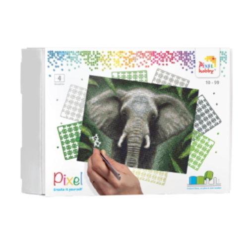 PixelHobby Pixelhobby geschenkverpakking Olifant 90095