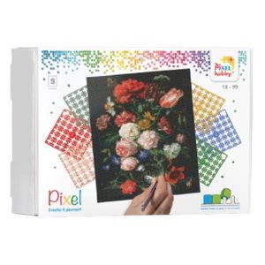 PixelHobby Pixelhobby Geschenkverpakking Boeket Bloemen 90098