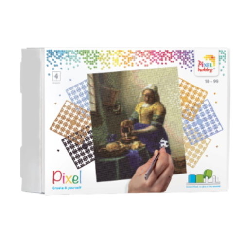 PixelHobby Pixelhobby Geschenkverpakking Het Melkmeisje 90086