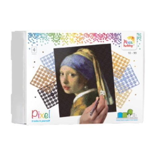 PixelHobby Pixelhobby Geschenkverpakking Het Meisje met de Parel 90085