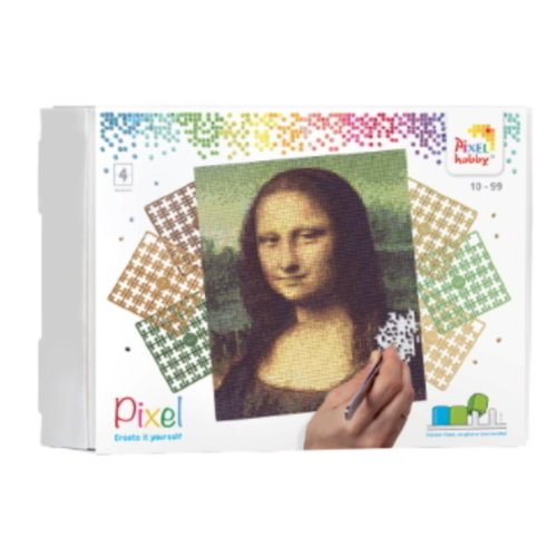 PixelHobby Pixelhobby Geschenkverpakking Mona Lisa 90090