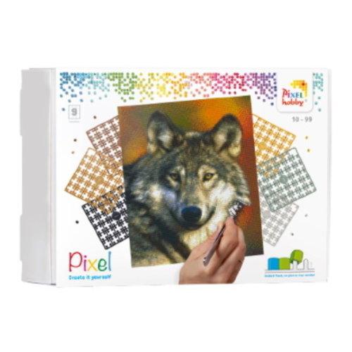 PixelHobby Pixelhobby Geschenkverpakking Wolf 90047