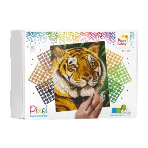 PixelHobby Pixelhobby Geschenkverpakking Tijger 90043