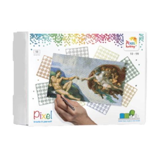 PixelHobby Pixelhobby Geschenkverpakking De Schepping van Michelangelo 90105