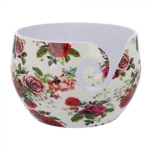 Scheepjeswol Scheepjes Yarn Bowl Roses onbreekbaar 13,5 x 9 cm