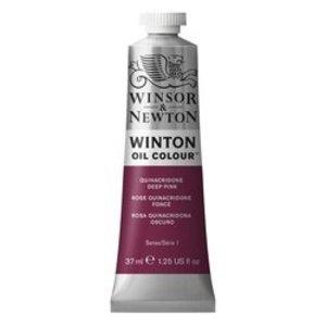 Winsor & Newton Winton olieverf 37 ml Quinacrirdone Deep Pink 250