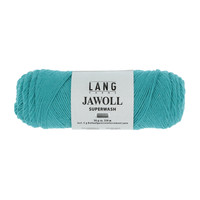 Lang Yarns Jawoll 50 gram dark turquoise nr 379