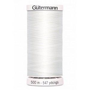 Gutermann Gutermann Allesnaaigaren 500 meter wit nr 800