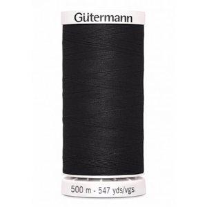 Gutermann Gutermann Allesnaaigaren 500 meter zwart nr 000