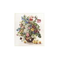 Alisa Borduurpakket Stilleven Boeket Bloemen op Vaas 2-23
