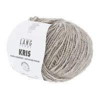 Lang Yarns Kris 50 gram nr 0003 Bruin Grijs