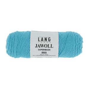 Lang Yarns Lang Yarns Jawoll 50 gram turquoise nr 279