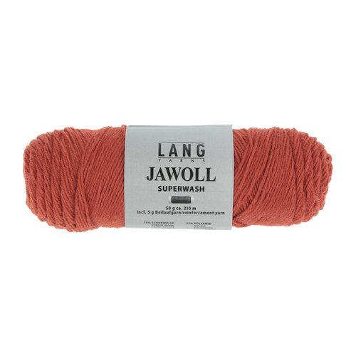 Lang Yarns Lang Yarns Jawoll 50 gram brown orange nr 275